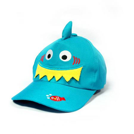 Kid Cap Blue Fish