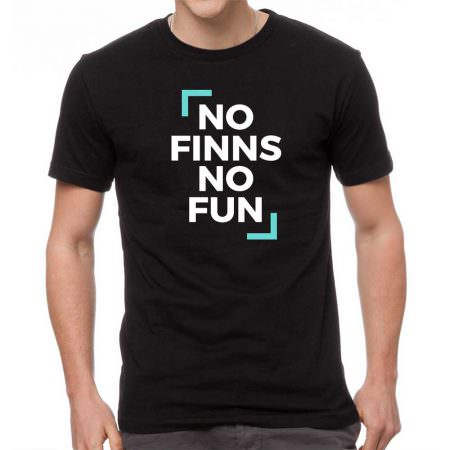 Male Tshirt NO FINNS NO FUN